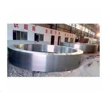 Кованое кольцо большого диаметра из нержавеющей стали