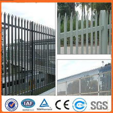 Hauteur de clôture métallique de hauteur arrière 0.5m-4m / Clôture de palissade à l'arrière-cour