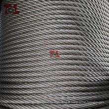 Cabo de aço inoxidável AISI 316 7X7 6mm