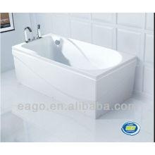 EAGO acrílico ordinario remojo bañera de estilo moderno LK1002