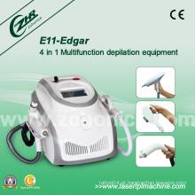 E11b Edgar Multifuncionais 4 em 1 máquina de remoção de cabelo Elight