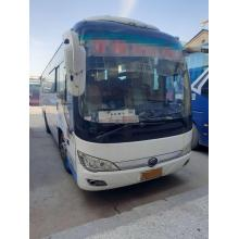 2014 ano usado yutong ônibus 45 assentos