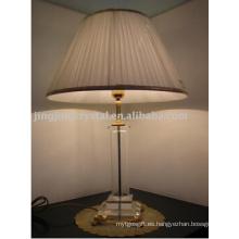 Moderna lámpara de mesa de cristal europeo con alta calidad en 2016