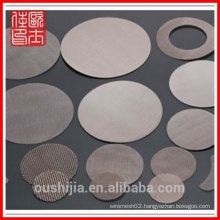 High-quality Plastic extrusion machinery Filter Mesh Disc