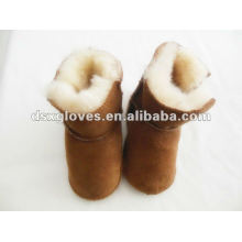 Детские теплые туфли для овчины