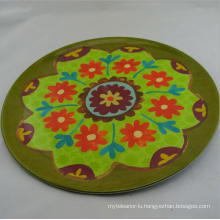 (BC-PM1002) High Quality Reusable Melamine Plate with Print