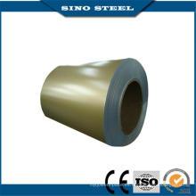 Grado Dx51d PPGI bobina de acero galvanizada prepintada