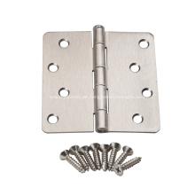 Amerikanisches Stahltürscharnier mit runder Ecke