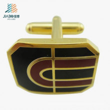 Top Sell Alloy Casting Enamel Gold Custom Cufflink From China Manufacturer