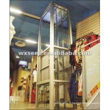 Magasin de détail silencieux ascenseur service serveur