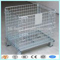 metal portable storage cage with top covers