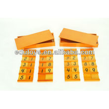Montessori Materials - Teen & Ten Boards Set