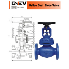 Anti Corrosion Bellows Sealed Globe Valve (J41W)