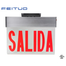 Светодиод выхода знак, знак аварийный выход, выход знак, знак Salida