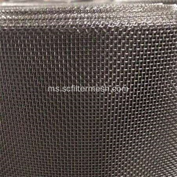 Wide 1-8 M Stainless Steel Wire Mesh Screen