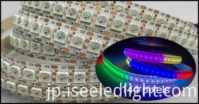 144 led 144 pixels Digital led strip