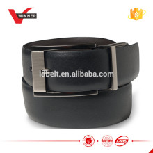 Good quality men's black reversible dress belt