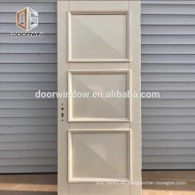 28 x 80 pulgadas Suave 4 paneles de núcleo hueco con imprimación compuestas de puertas de un solo vestidor