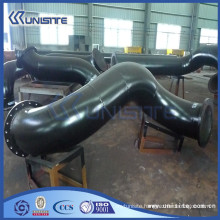 customized steel water jet pipe for dredging suction hopper dredger (USC3-009)