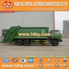 DONGFENG 6x4 16/20 m3 moteur lourd à déchets comprimés diesel 210hp avec mécanisme de pressage
