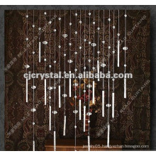 2015 fashion Crystal glass beads curtains in bulk