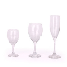 High quality long stem clear wine glass white red wine glasses goblet red wine glass for restaurant