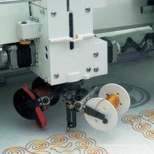 Machine à broder à 10 bobines