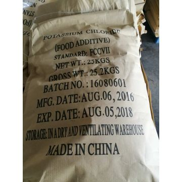 Gellan gum raw material potassium chloride KCl