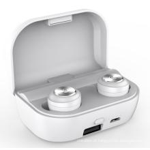 Sport TWS Mini Headset Estéreo Fones de Ouvido para Baixo