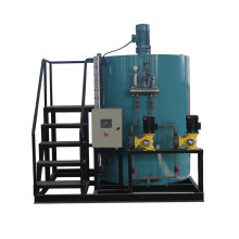 Carbon Steel Material Dosing Machine with Ladder