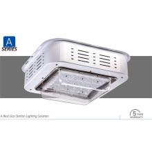 IP65 Ik08 100W Superbright LED Vordach mit Meanwell Treiber Licht bewertet