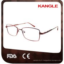 Chine Best inoxydable matériau solide lunettes cadre Vente directe d'usine