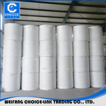 factory supply white needle punched polyester mat use for waterproofing