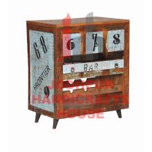Móveis de baralho impresso de madeira