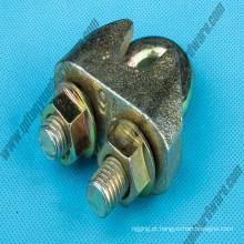 Grampo de corda de fio maleável DIN1142 Galv