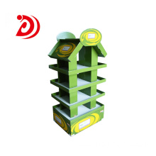 Food cardboard display stand
