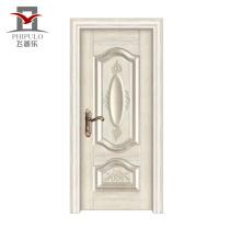 Usine faisant la marque a accepté la porte en bois d'acier d'OEM