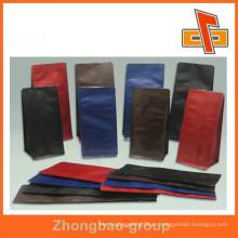 Materiales laminados stand up bolsa de café con válvula para el paquete de café