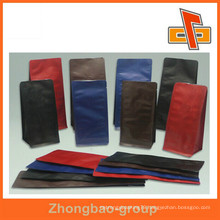 laminated materials stand up coffee bag with valve for coffee package