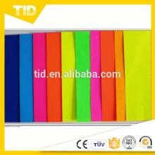 Película adhesiva fluorescente del vinilo / cinta fluorescente
