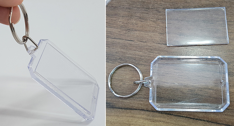 DETAIL photo holder keyring