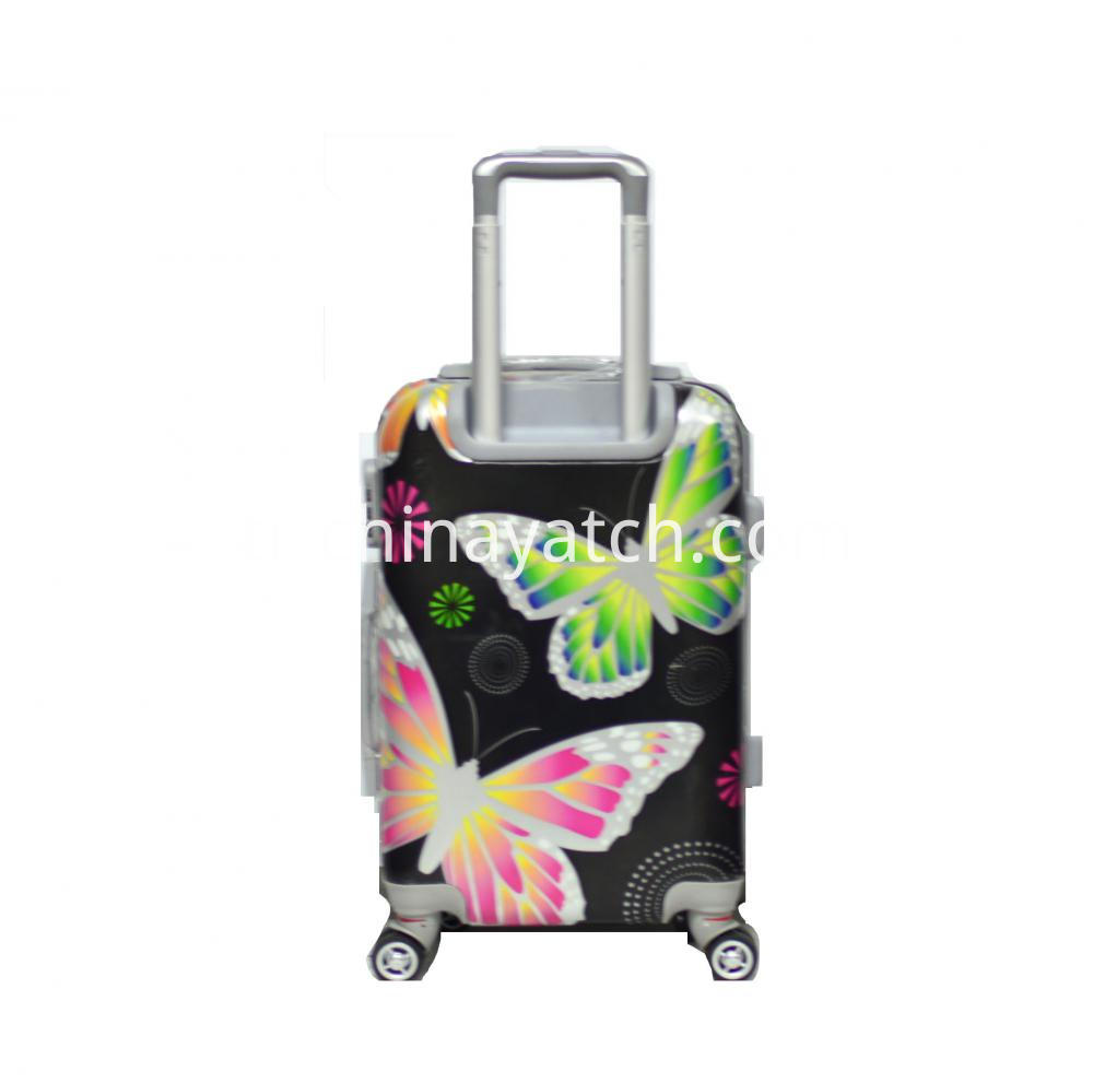 ABS&PC Printing Rolling Trolley Case