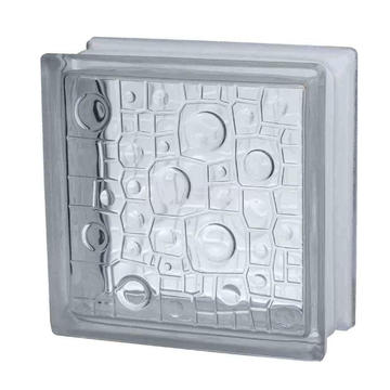 Brique en verre décorative creuse 190 * 190 * 80