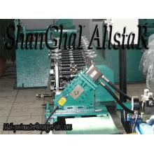 Forma metálica y postes del rodillo anteriores | forma la máquina
