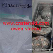 Quality Pharmaceutical Finasteride Raw Powder Prostide Man Hair Regrowth