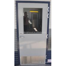 Grauer PU-Farbenbündiger Türentwurf für Behälterhäuser