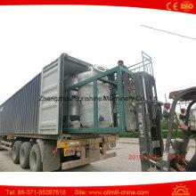 Planta de refinação de petróleo bruto 3t Máquina de refinação de óleo de coco