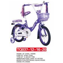 Chegada nova de 12inch da bicicleta roxa do bebê / bicicleta dos miúdos