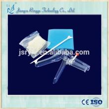 Kit ginecológico médico desechable de alta calidad