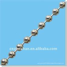 4.5mm cadena de cuentas de acero inoxidable para persianas de rodillos-accesorios de cortina